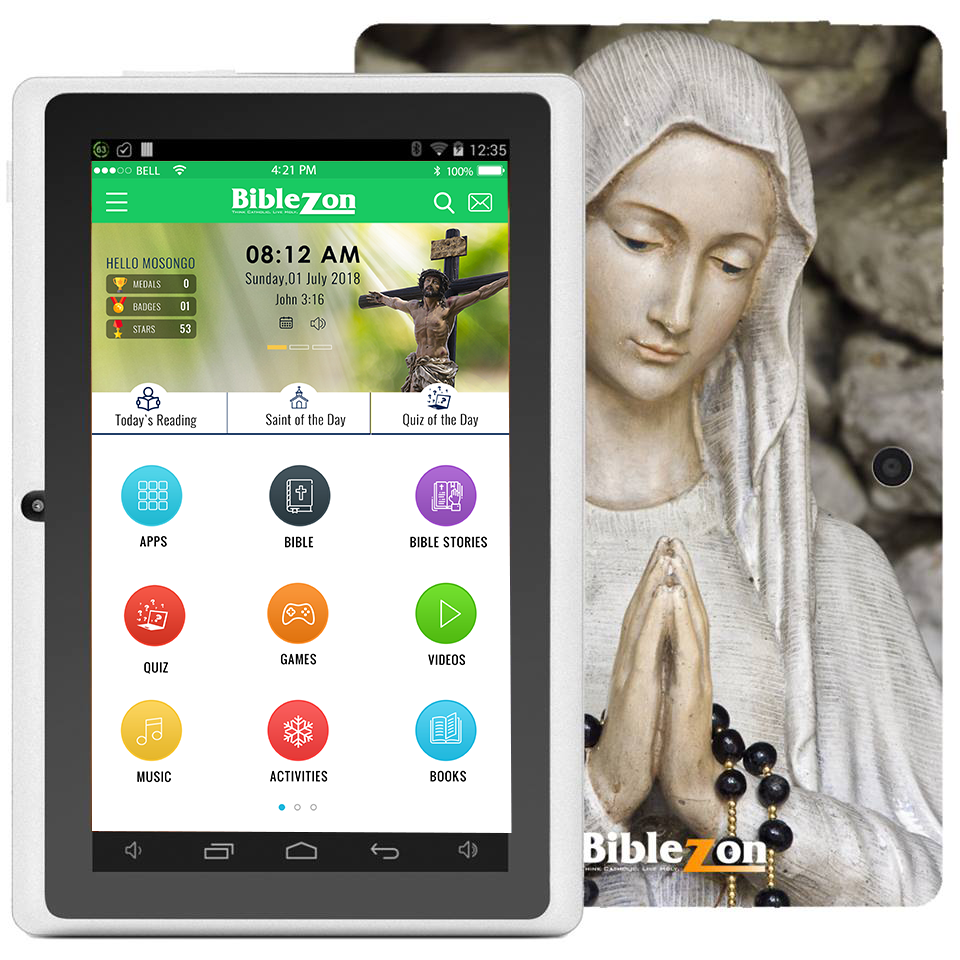 Holy Mary Catholic Teens And Adult Tablet