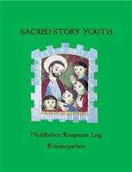 Sacred Story Youth: Meditation Response Book - Kindergarten