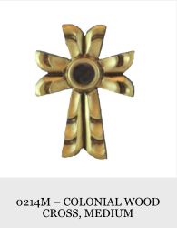 Colonial Woods Cross (medium)
