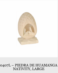 1 Piece Piedra De Huamanga Nativity (Large)