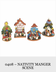 1 Piece Nativity Manger Scene