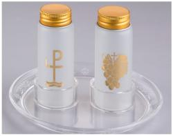 Glass Cruet Set