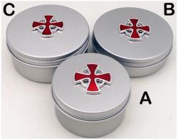 (A) Aluminum PYX; Size A
