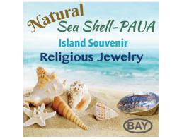Natural Sea Shell-Paua Island Souvenir Religious Jewelry