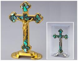 Sea Shell-Paua Crucifix 3