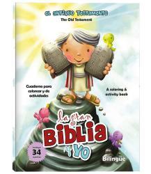 La gran Biblia y yo - Old testament (bilingual) -Coloring/activity book