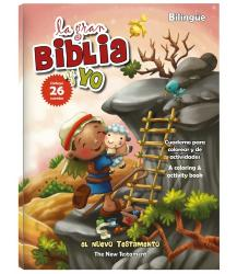 La gran Biblia y yo - New testament (bilingual) -Coloring/activity book