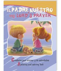 El Padre nuestro (bilingual) - Coloring/activity book