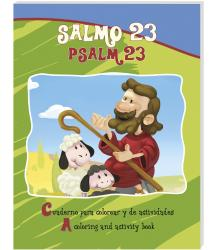 Salmo 23 (bilingual) - Coloring / activity book