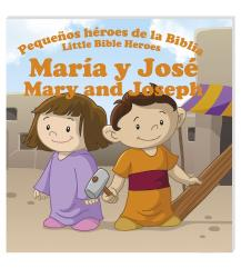 María y José / Mary and Joseph (bilingual) - Reading book