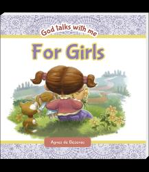 God talks with me for girls (English) - Reading book