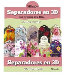 3D Bookmarks for women (English)