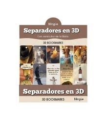 3D Bookmarks for men (English)
