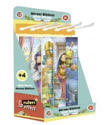 3D Bible heroes rulers (bilingual)