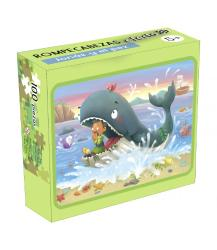 Jonah and the fish (3D Jigsaw Puzzle)
