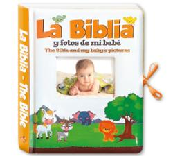 The Bible and my baby's pictures (bilingual)