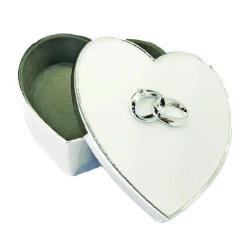 Heart Shaped Keepsake Box
