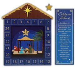 Children's Magnetic Advent Calendar