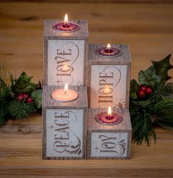 Advent Pillar Candles