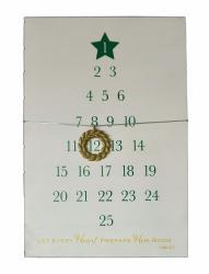 Advent Countdown Wall Calendar