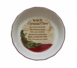 Christmas Cheer Pie Plate