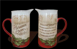 Christmas Water Pitcher