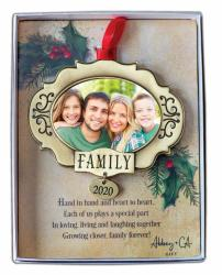 Family Photo Ornament