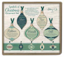 Symbols of Christmas Ornament Set