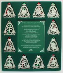 12 Days of Christmas Ornament Set