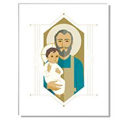 8x10 Print: St. Joseph