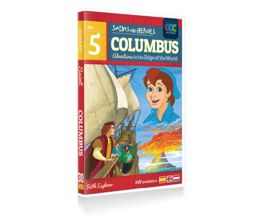 DVD 005 COLUMBUS- E,S,F..CCC Of America
