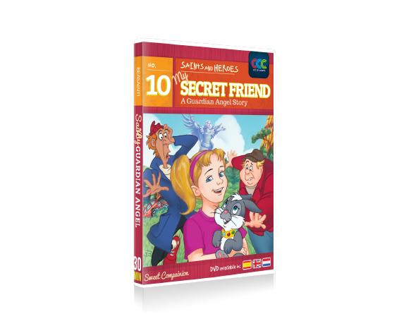 DVD 010 MY SECRET FRIEND- E,S,F..CCC Of America