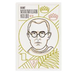 Prayer Card: St. Maximilian Kolbe