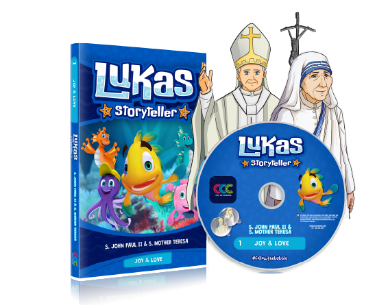 DVD 001 LUKAS STORYTELLER EP 1 AND 2 E,S,F...