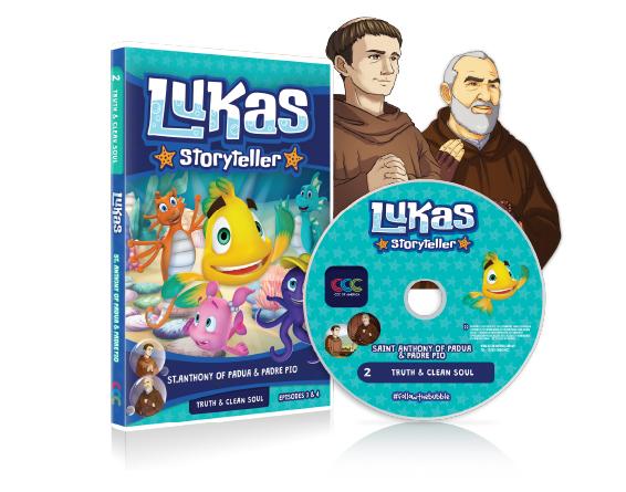 DVD 001 LUKAS STORYTELLER EP 3 AND 4 E,S,F...