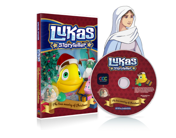 DVD 001 LUKAS STORYTELLER CHRISTMAS SPECIAL E,S,F.