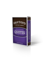 Great Events: Quotes