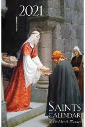 2021 Saints Calendar & Planner