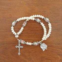 Roses Wrist Rosary