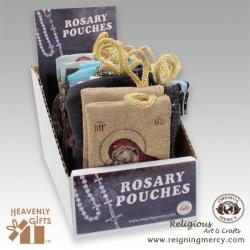 Tapestry Rosary Pouch Display 36 ct.