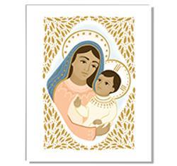 8x10 Print: Mary & Jesus