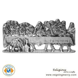 The Last Supper w/ Base Pewter Art