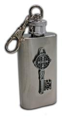 Saint Benedict SS Holy Water Flask