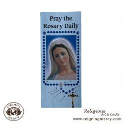 Pray the Rosary Daily Pamphlet