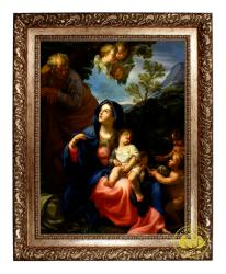 The Rest of the Flight into Egypt (Framed)