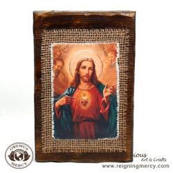 Sacred Heart of Jesus Retablo