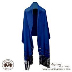 Medium Shawl (Royal Blue)