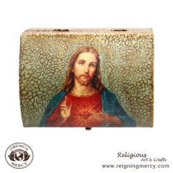 Sacred Heart of Jesus Trinket Box