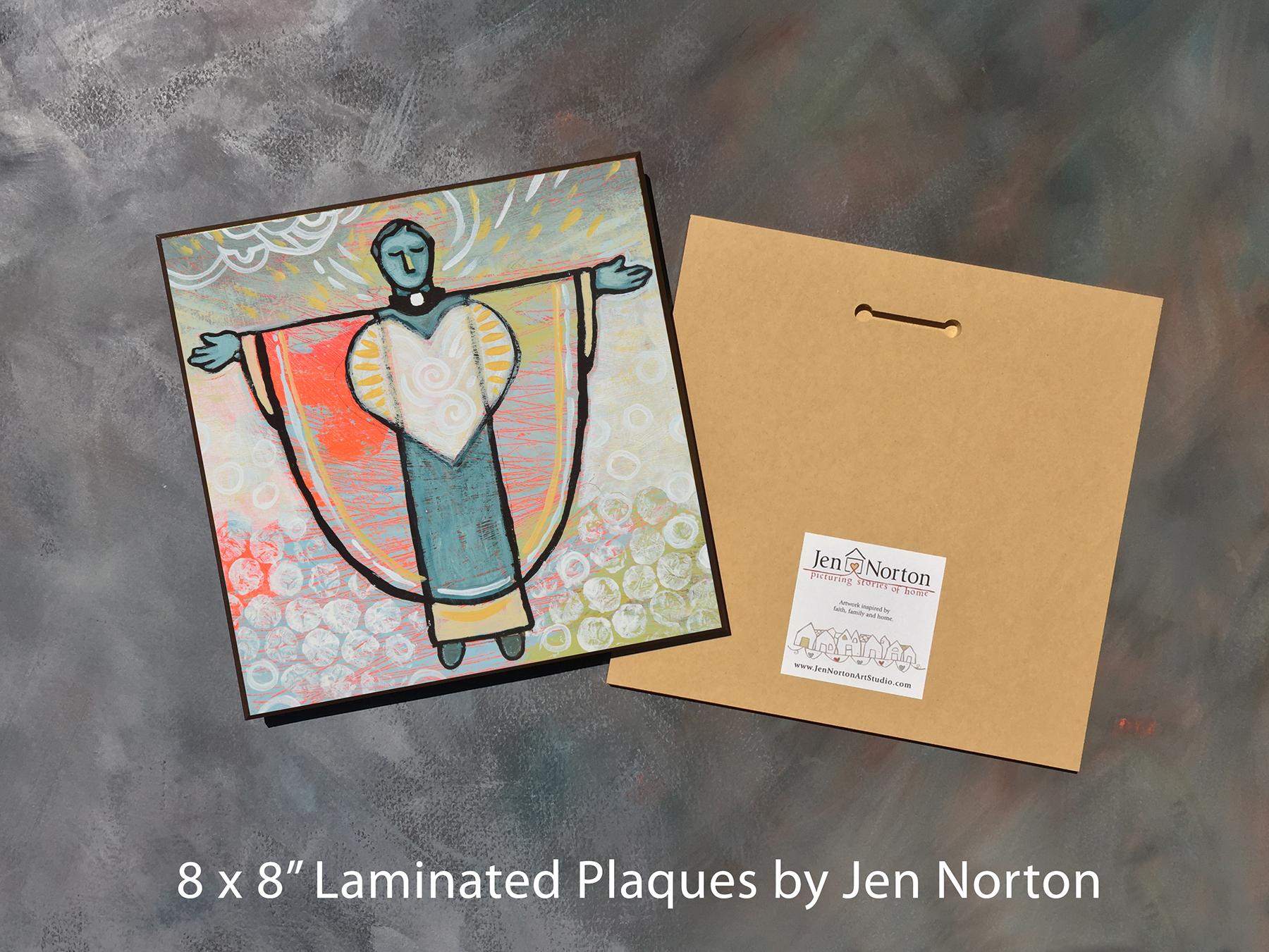 Laminated Plaques: 8x8