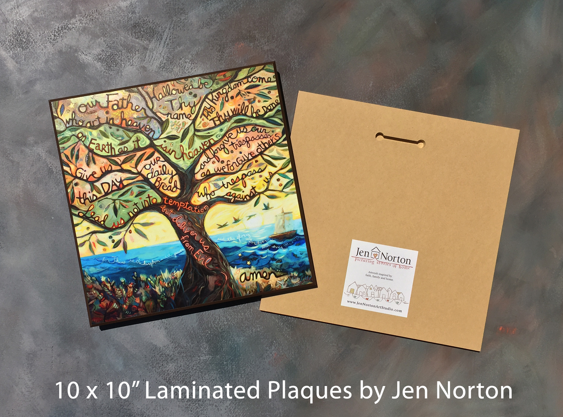Laminated Plaques: 10 x 10